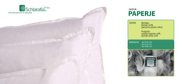 Jastuci Paperje