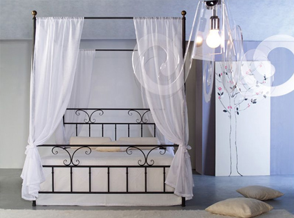 Krevet od kovanog gvožđa Baldacchino