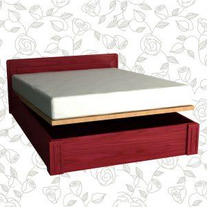 Drveni krevet Luna RU