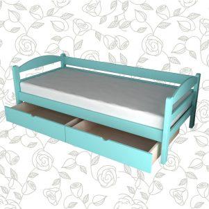Drveni krevet Sofa b2